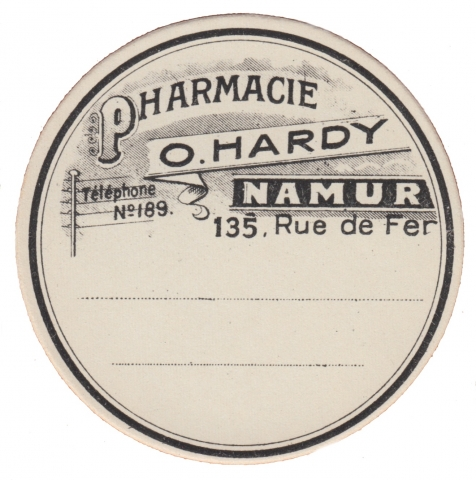 Vintage French Apothecary Label
