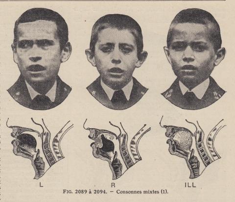 Vintage Speech Therapy Photos