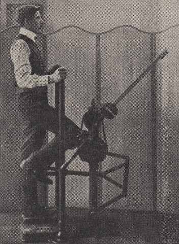 Edwardian Physical Therapy - Steampunk Man