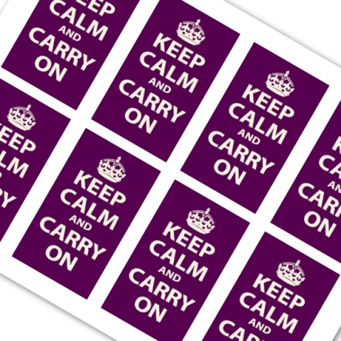 Dark purple keep calm and carry on whereapy purple keep calm and carry on reheart Images