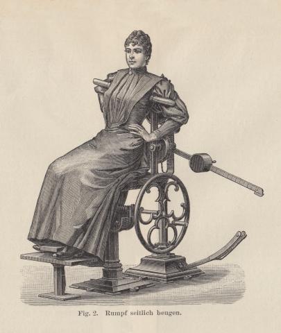 Steampunk Therapy - Edwardian Exercise Machine