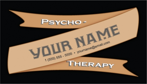 Psychotherapy Business Card