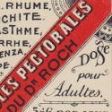 Old Apothecary Label Red Stripe