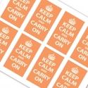 Keep Calm and Carry On Orange