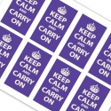 Violet printable mini keep calm