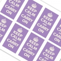 Lavender Keep Calm and Carry On