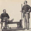 Vintage Physical Therapy Machine Illustration